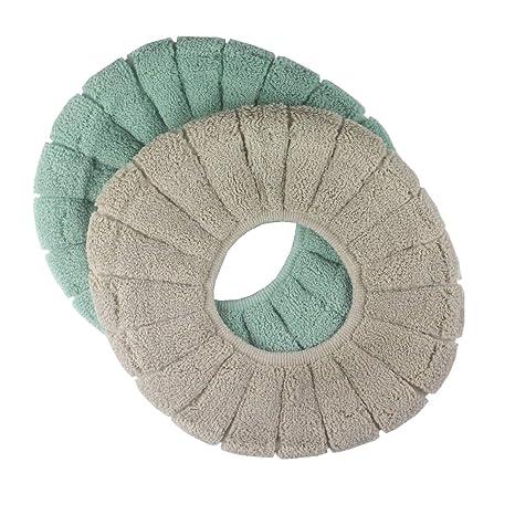 Amazon.com: Almohadillas acolchadas para asiento de inodoro ...