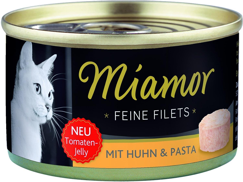 MIAMOR Filetitos Pollo-Pasta Gelat. Lata 24x100g