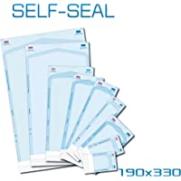 Bolsa esterilizadora autoadhesiva para autoclavos, 200 unidades, 190