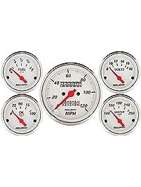 Auto Meter 1300 Arctic White Kit Box-5 Piece