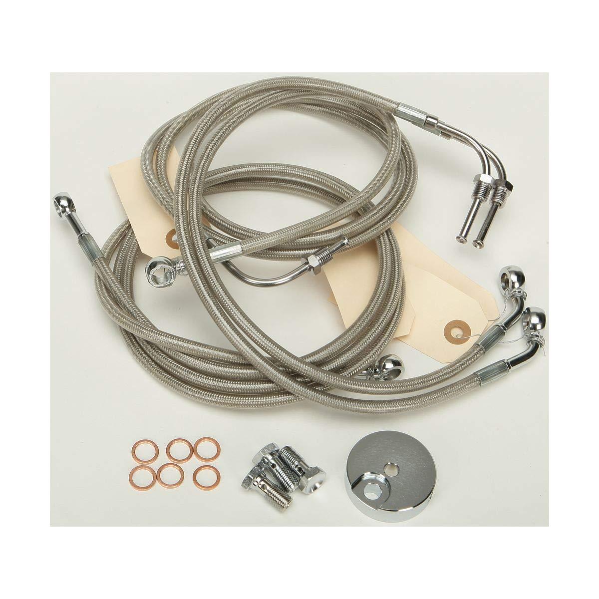 HardDrive HD-0304 Clear Brake line Kit