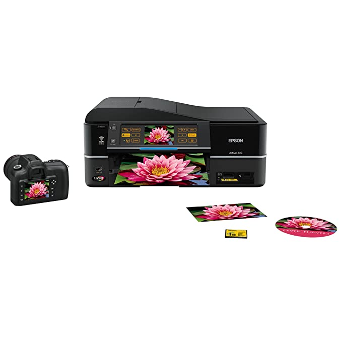 Amazon.com: Epson Artisan 810 Wireless All-in-One Inyección ...