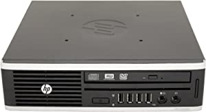 HP Compaq Elite 8200 USDT Desktop Dual-Core i3 3.10 4 GB RAM 160 GB HD DVD-RW Windows 7 Home Premium 32-Bit