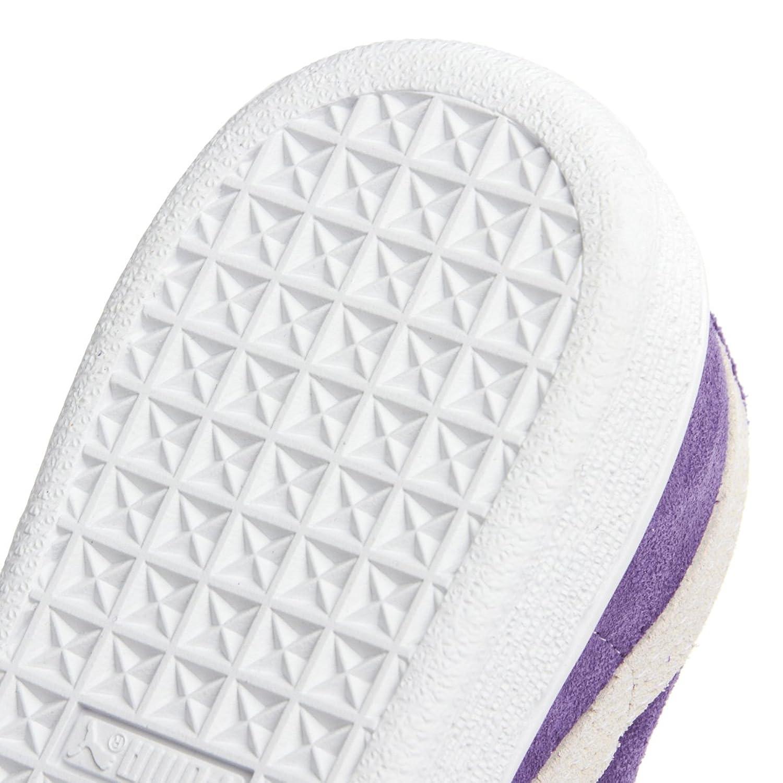PUMA Suede Kids Baby und Children leather lila 355116 04 purple, pointure:eur 21