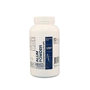 Alum Powder, USP, 12 oz., Traditional Food Processing Agent