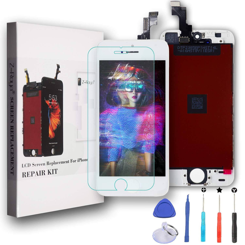 Z-Roya Reemplazo Pantalla LCD y Pantalla Táctil Digitizador Asamblea para iPhone 5s 4.0