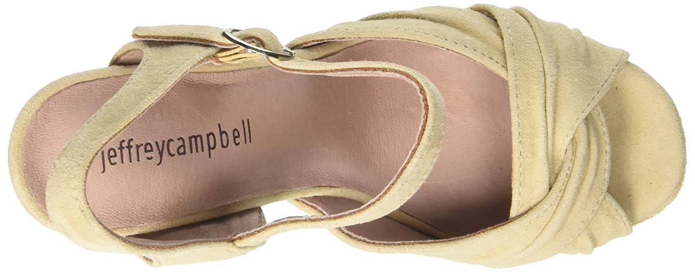 Jeffrey Campbell Damen damens Suede Schuhe mit Absatz mit mit mit Offenen Zehen Schwarz 36 EU 3dbba0