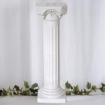"Efavormart 4 Pillars/Set Roman Decorative Wedding Party Columns PVC Pillars  36"" Height ("
