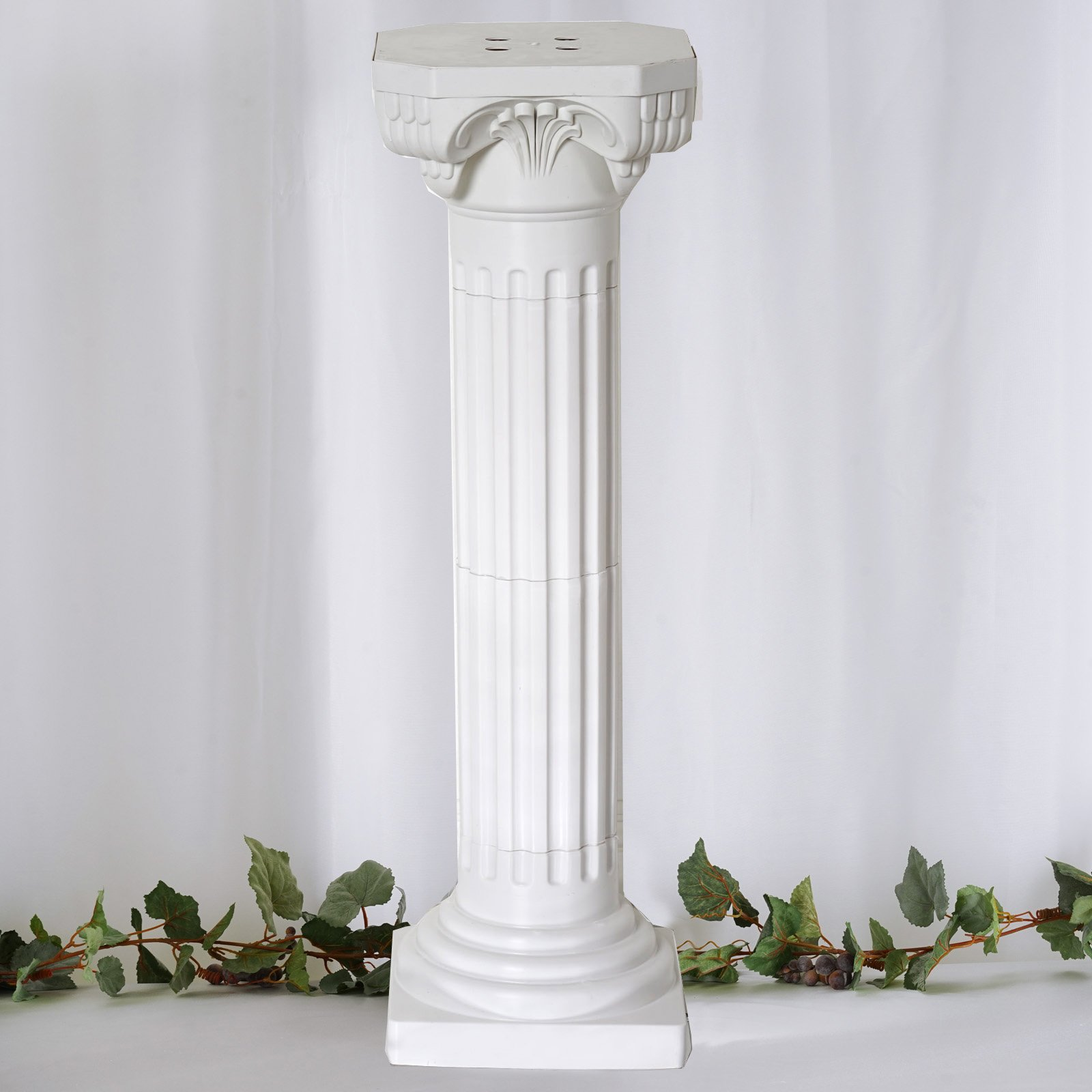 Efavormart 4 Pillars/Set Roman Decorative Wedding Party Columns PVC Pillars 36'' Height (Adjustable) by Efavormart