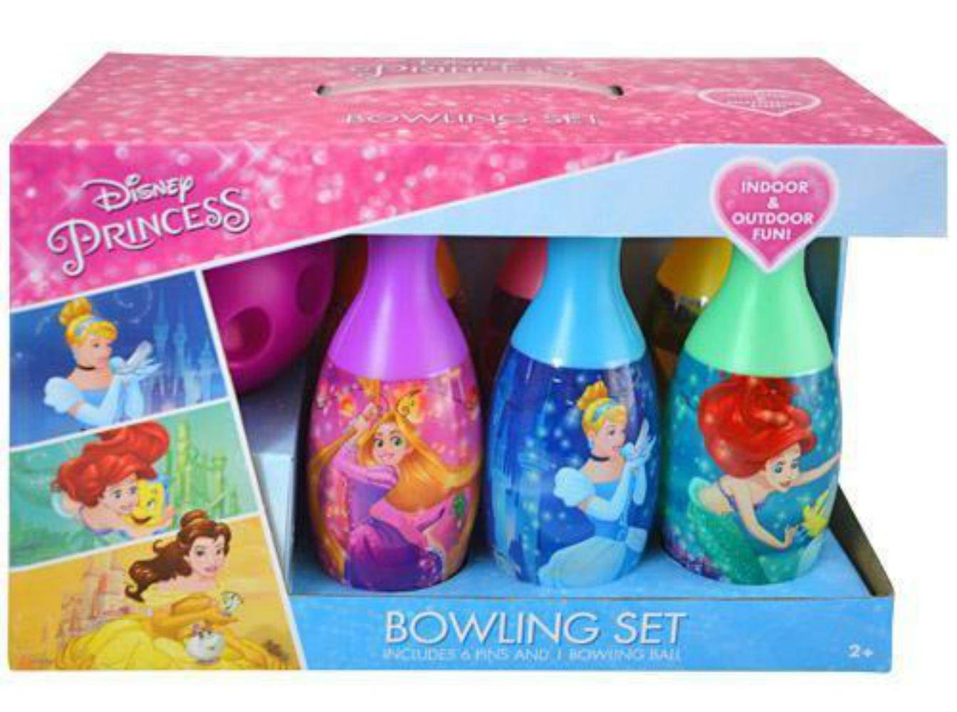 Disney Princess Themed Kids Bowling Play Set