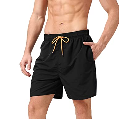 Men's Clothing Useful Quick Dry Beach Shorts Mens Summer Short Man Board Swimwear Beachwear Male Bermudas Exercise Short Brand Clothing Inside Liner