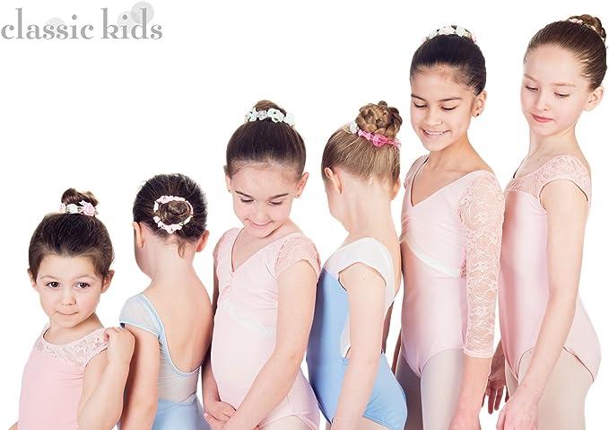 Sunflower Hair Bun Garland Scrunchie Elastic Dancewear Ballet Bridal Accessories