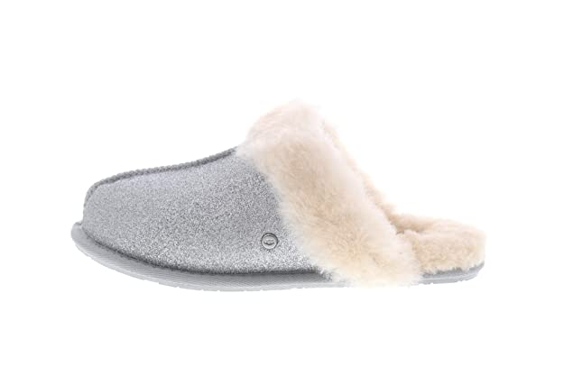 fc329f156bc5 UGG - Scuffette II Sparkle 1100177 - Silver  Amazon.co.uk  Shoes   Bags