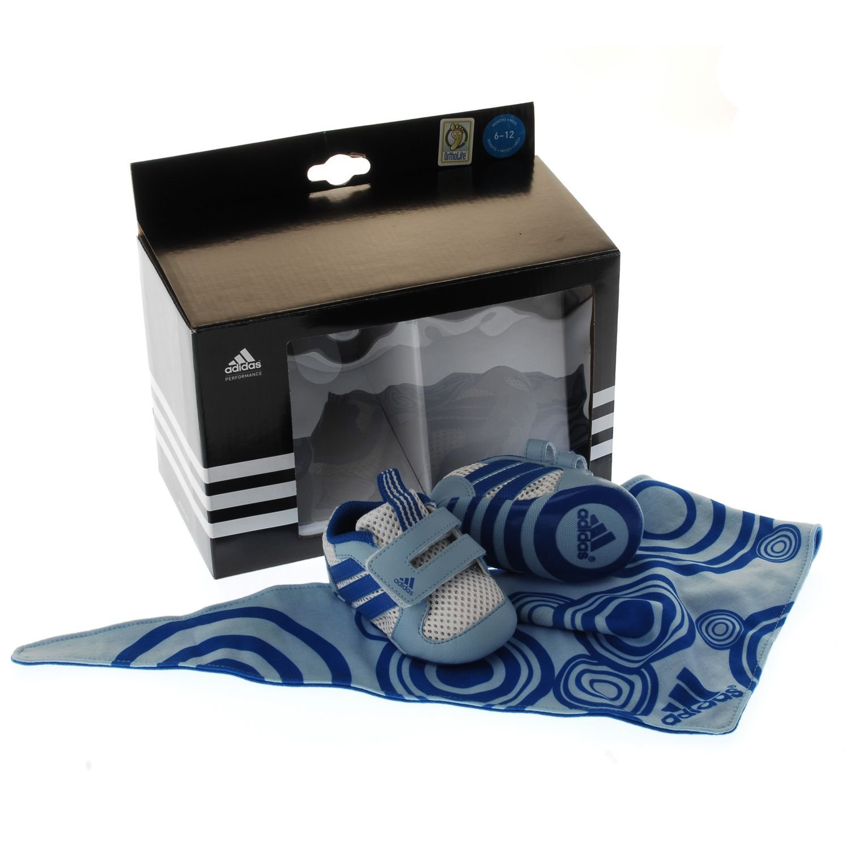 newest 4582e e7edc adidas Mesh Crib Pack (Baby) 4K Blue  Amazon.co.uk  Shoes   Bags
