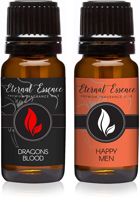 Pair (2) - Dragons Blood & Happy Men - Premium Fragrance Oil Pair - 10ML