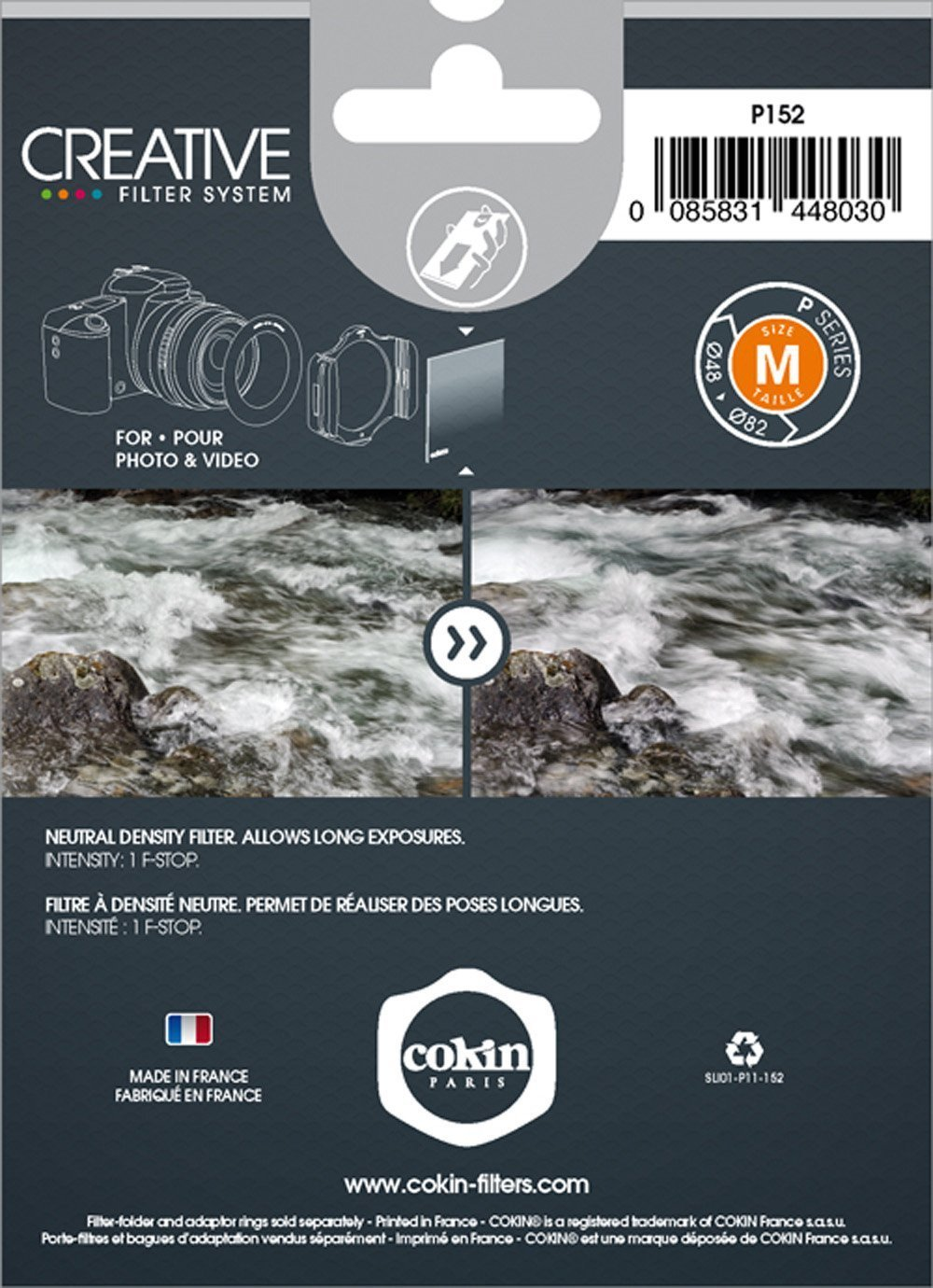 Cokin P-Series Neutral Grey ND2 (0.3) Filter by Cokin