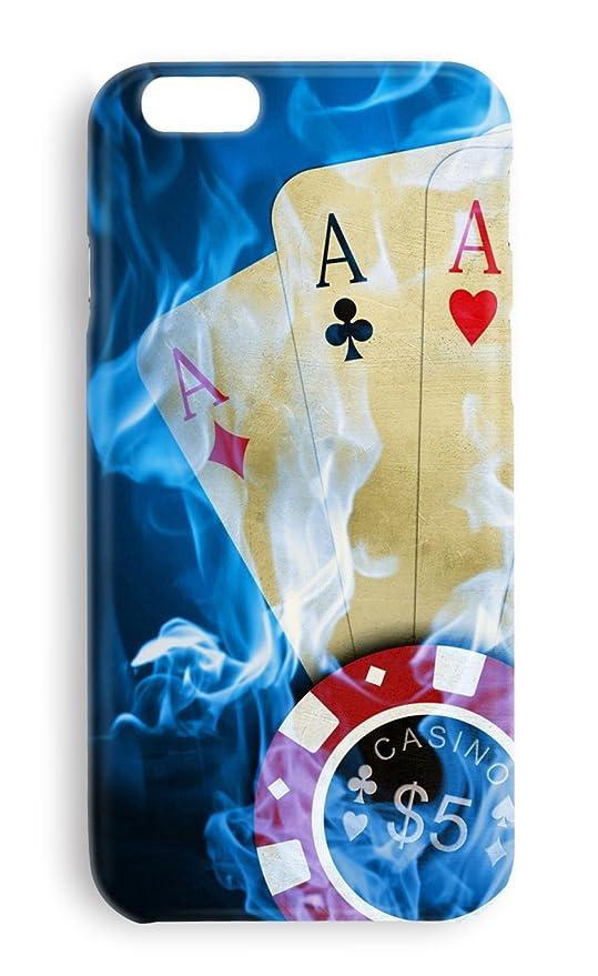 Funda Carcasa Poker Cartas para Huawei P8 Lite plástico ...