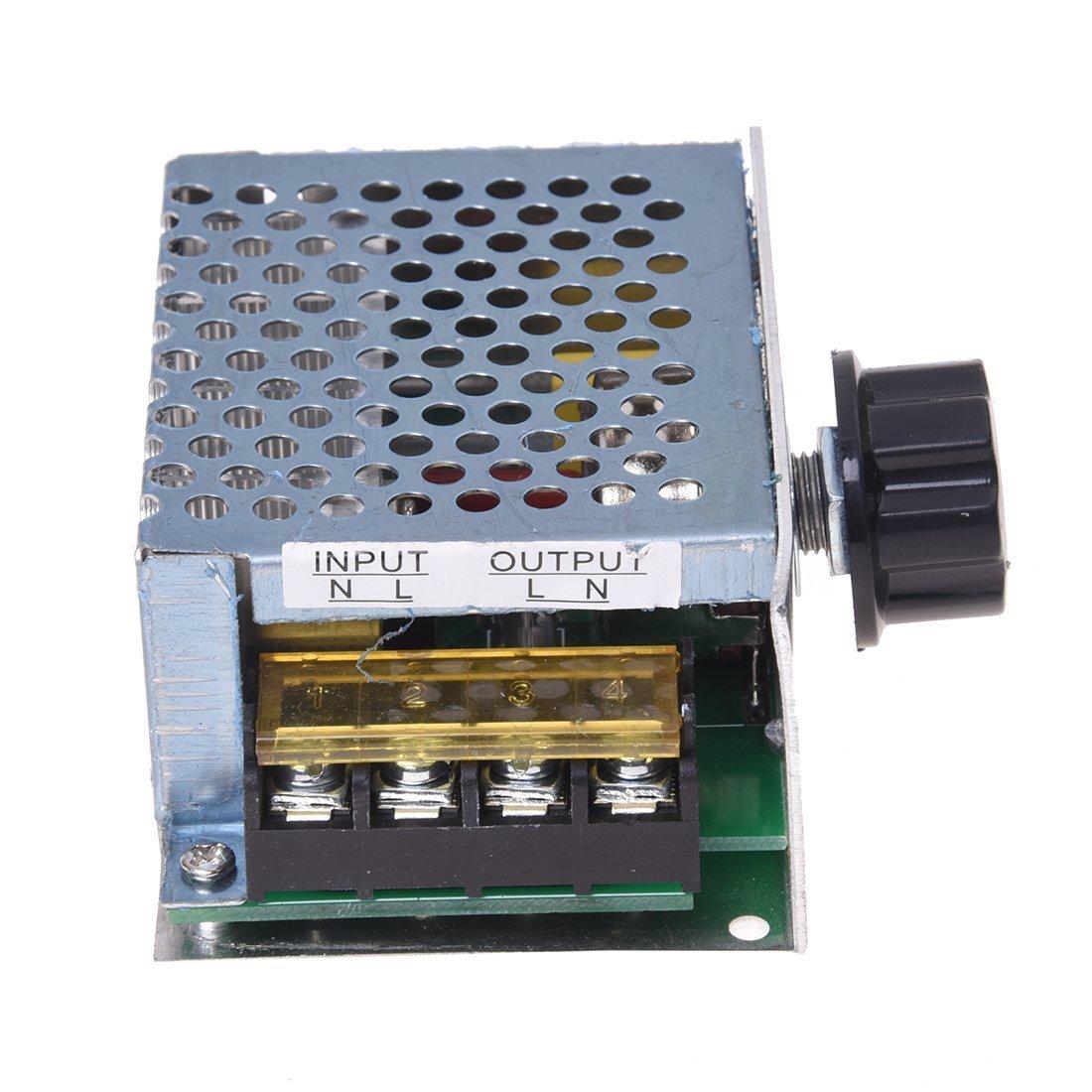 SODIAL(R) Regulador Controlador de Tension Voltaje Silicio Alta Potencia 4000W con Cascara product
