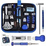 Vastar 177pcs Kit de Reparación de Relojes - Herramientas de Reparación Profesionales para Reloj, Más Completas y Profesional