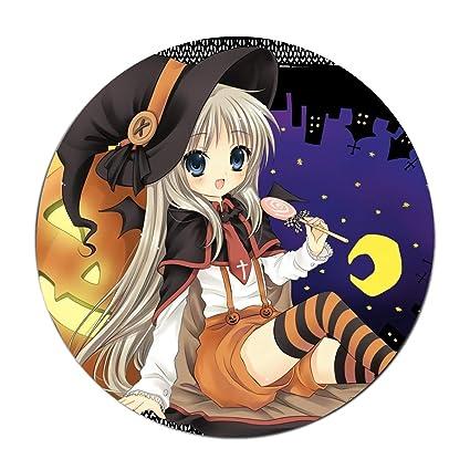 Amazoncom Jonhbkd Holiday Halloween Anime Girl Witch White Hair