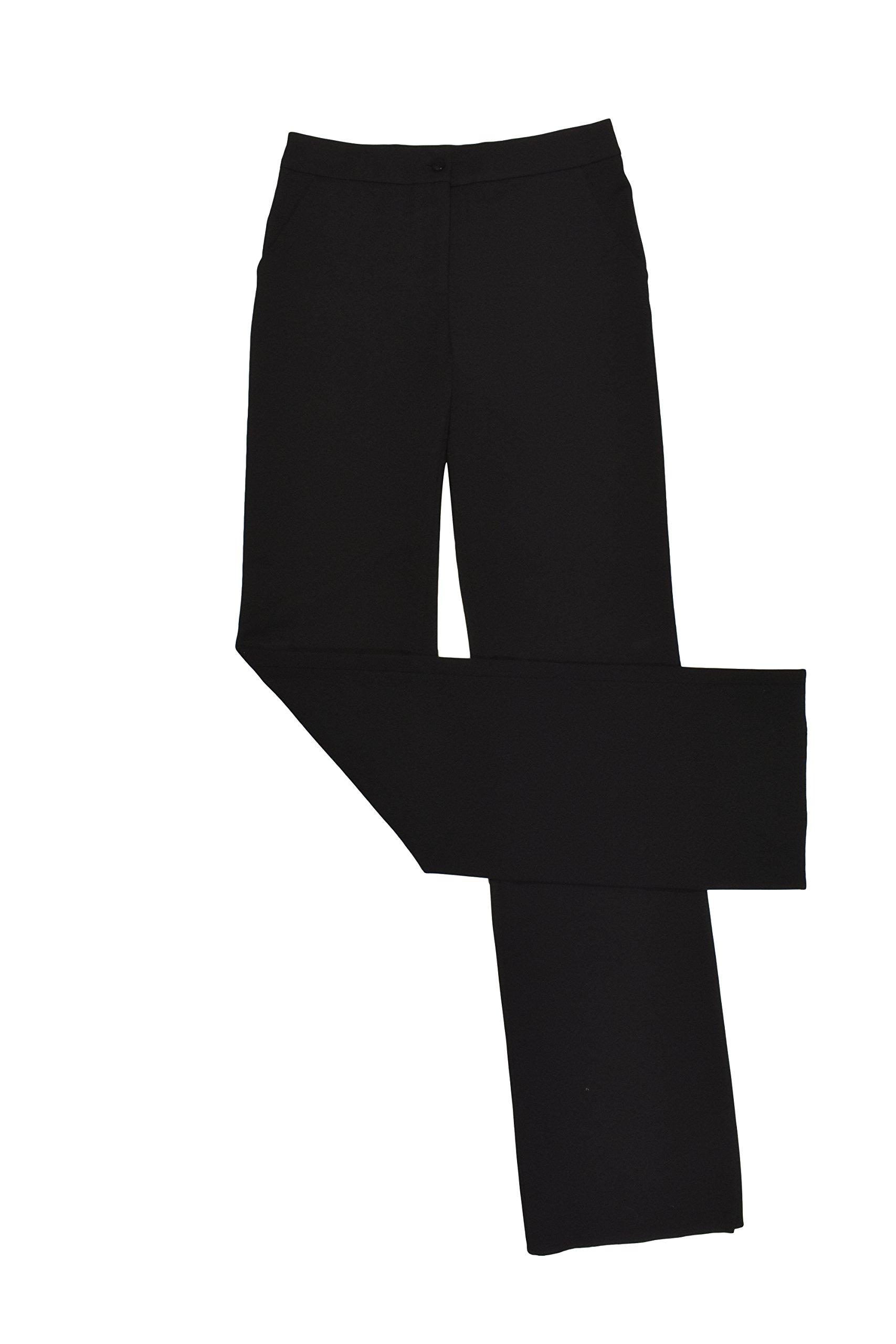 Salvatore Ferragamo Black High Waist Pants 38