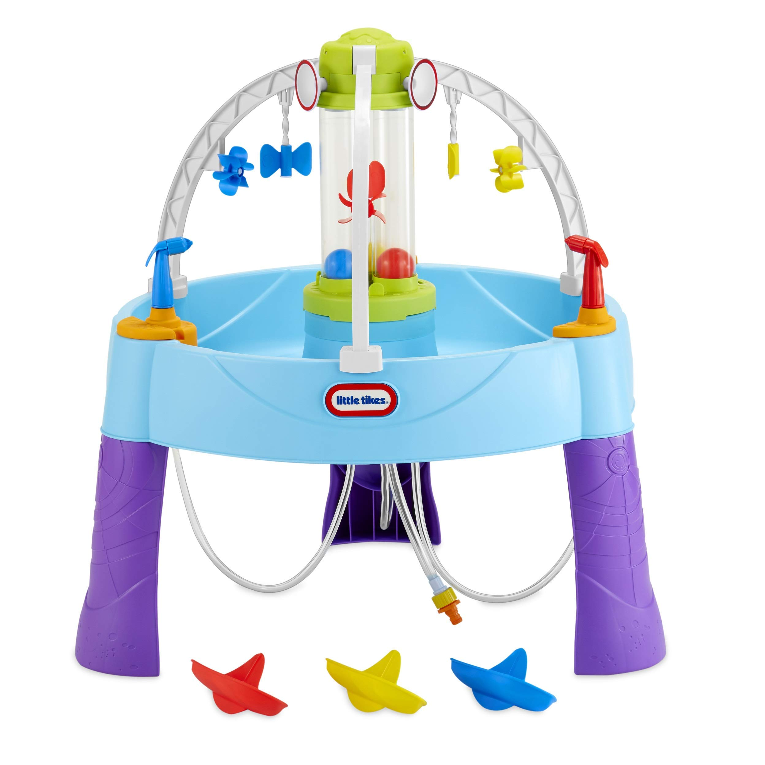 Little Tikes Fun Zone Battle Splash Water Play Table Game for Kids (Renewed) by Little Tikes