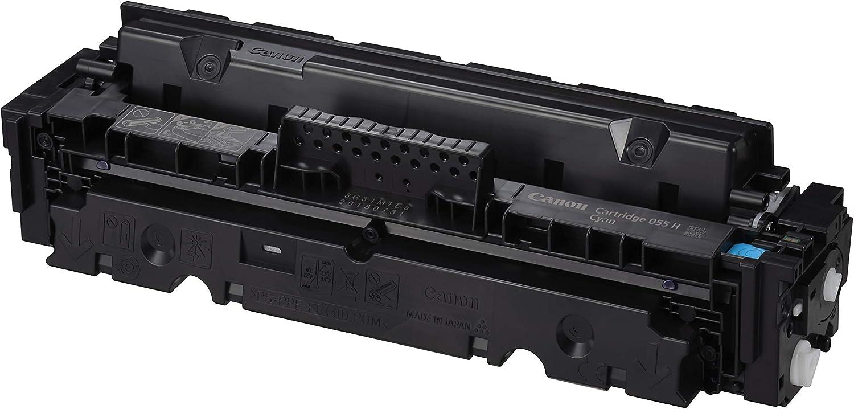 Canon Toner Cartridge 055h C Cyan Hohe Reichweite Bürobedarf Schreibwaren
