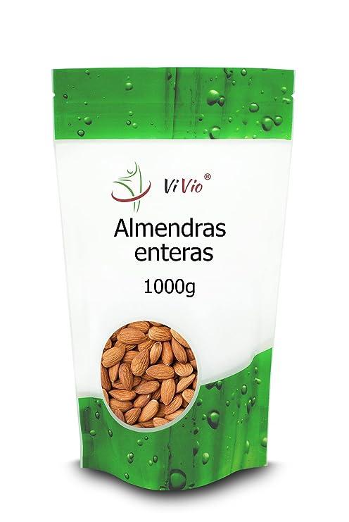 Almendras con Piel Vivio. Fruto Seco Saludable 100% Natural ...