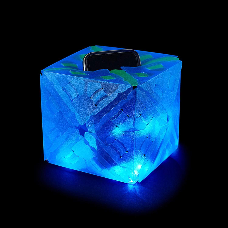 Kosmos 03539 Creatto Einhorn 3D-Leuchtfiguren entwerfen Bastel Set Hase oder Eisb/är gestalte deine kreative Zimmer-Deko 80-tlg f/ür Einhorn LED-Lichterkette Ballerina ab 9 Jahre 140 Steckteile