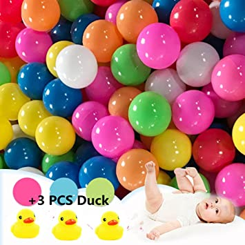 Pack de 50pcs /100pcs bolas, multicolor, diámetro de 5.5cm/ 7 cm ...