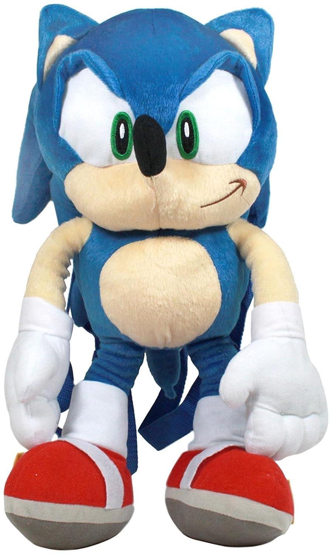 Peluche Mochila - Sonic el erizo - Sonic Suave Muñeca 18
