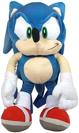 "Peluche Mochila – Sonic el erizo – Sonic Suave Muñeca 18 ""nuevos juguetes sh9267"