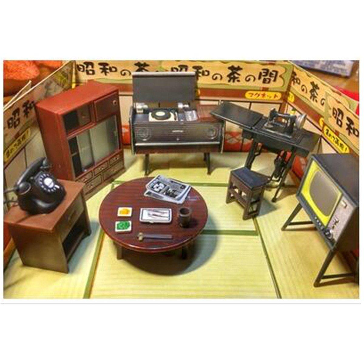 Amazon.com: 1: 24 Vintage japonés muebles casa de muñecas ...