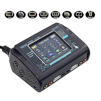 Amazon.com: HTRC c240/t240 cargador de batería: Toys & Games