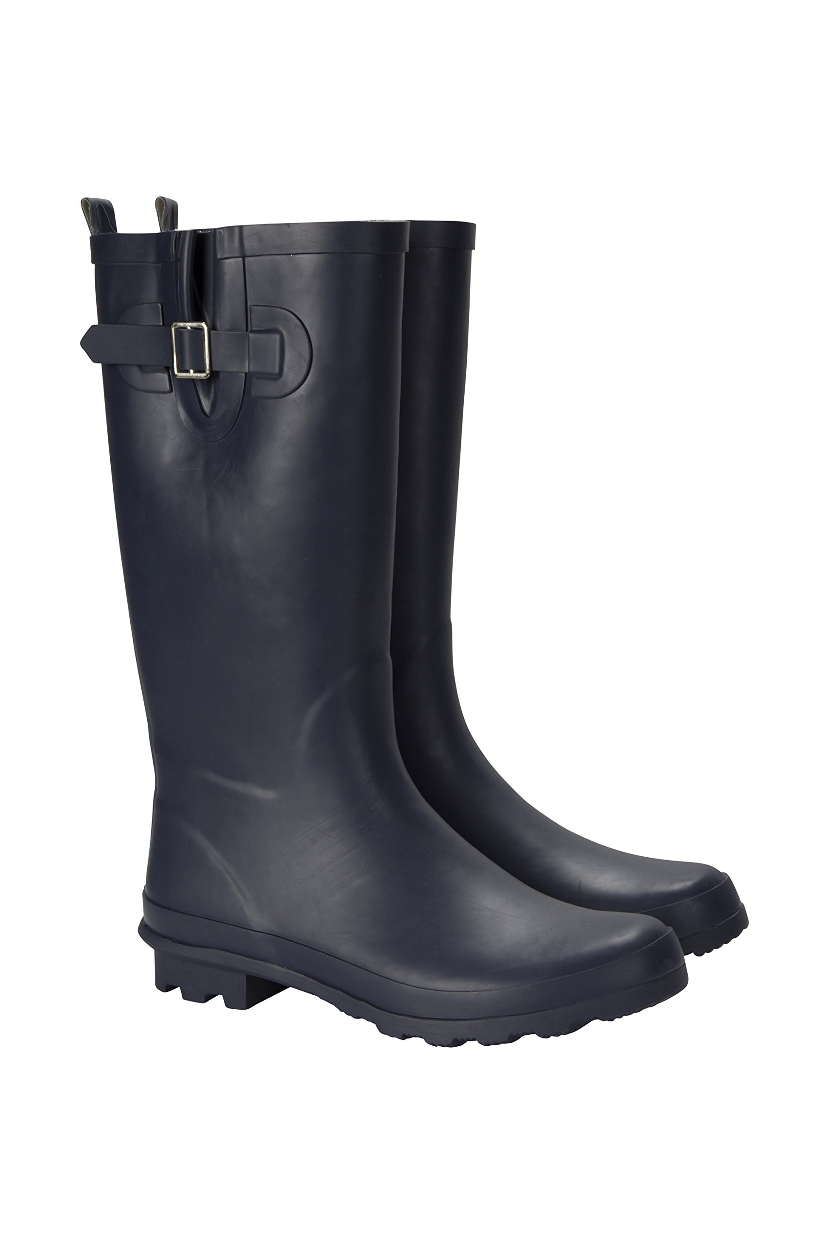 Mountain Warehouse Puddle Perfection Womens Wellies -Rain Shoes Navy 6 M US Women