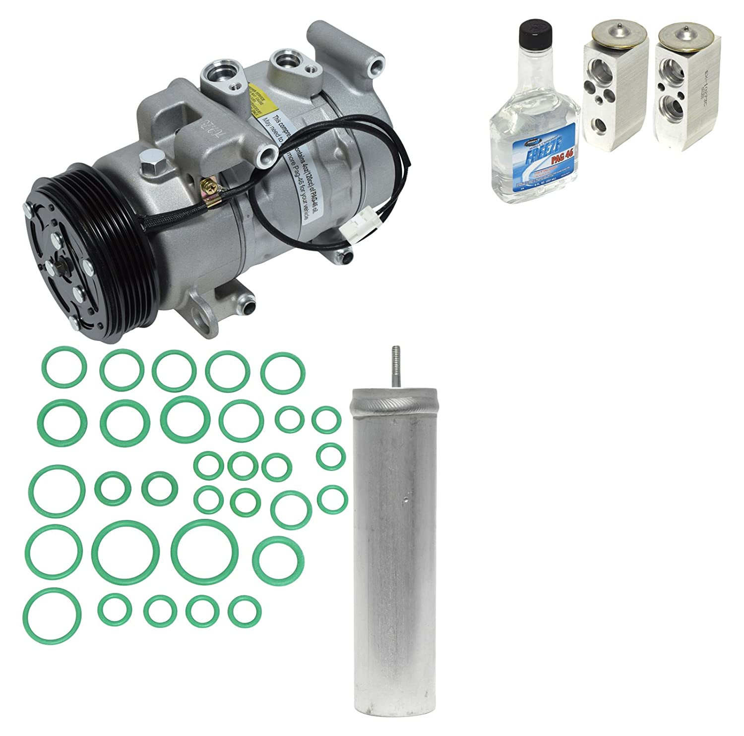 Universal Air Conditioner KT 1347 A//C Compressor and Component Kit