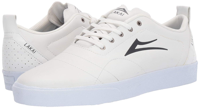Lakai Footwear Bristol White//Charcoal Leathersize Tennis Shoe