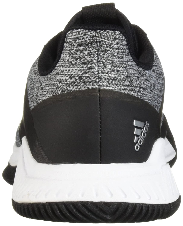 adidas Shoe Women's Crazyflight Team Volleyball Shoe adidas B077X9BWC6 4.5 B(M) US|Black/Silver Metallic/White 26dade