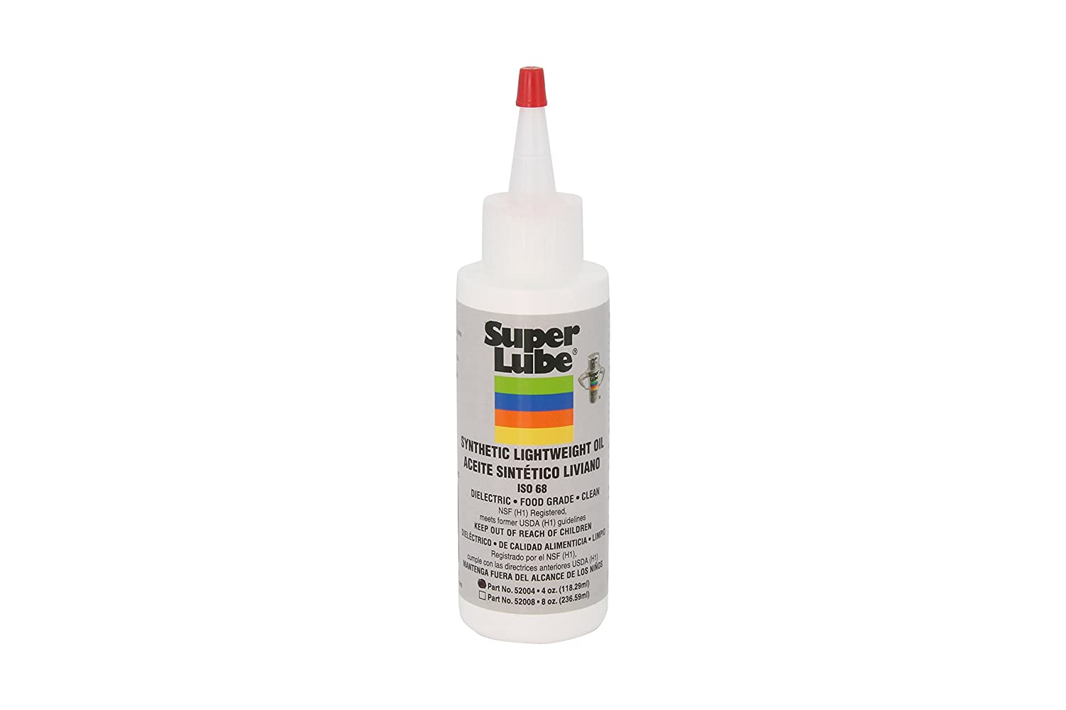 Super Lube 52004 Synthetic Lightweight Oil (ISO 68), Translucent