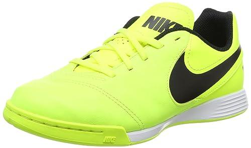 Nike Tiempo X Legend Vi Ic, Zapatillas de Fútbol para Niños, Amarillo (Volt / Black-Volt), 33.5 EU: Amazon.es: Zapatos y complementos