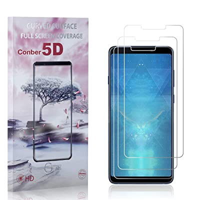 Conber (3 Pack) Screen Protector for Samsung Galaxy A9 2020, [Anti-Shatter][Scratch-Resistant][Case Friendly] Premium Tempered Glass Screen Protector for Samsung Galaxy A9 2020: Baby