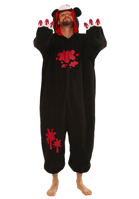 Amazon.com: Gloomy Bear Black Kigurumi - Adult Pajamas Fancy Dress: Clothing