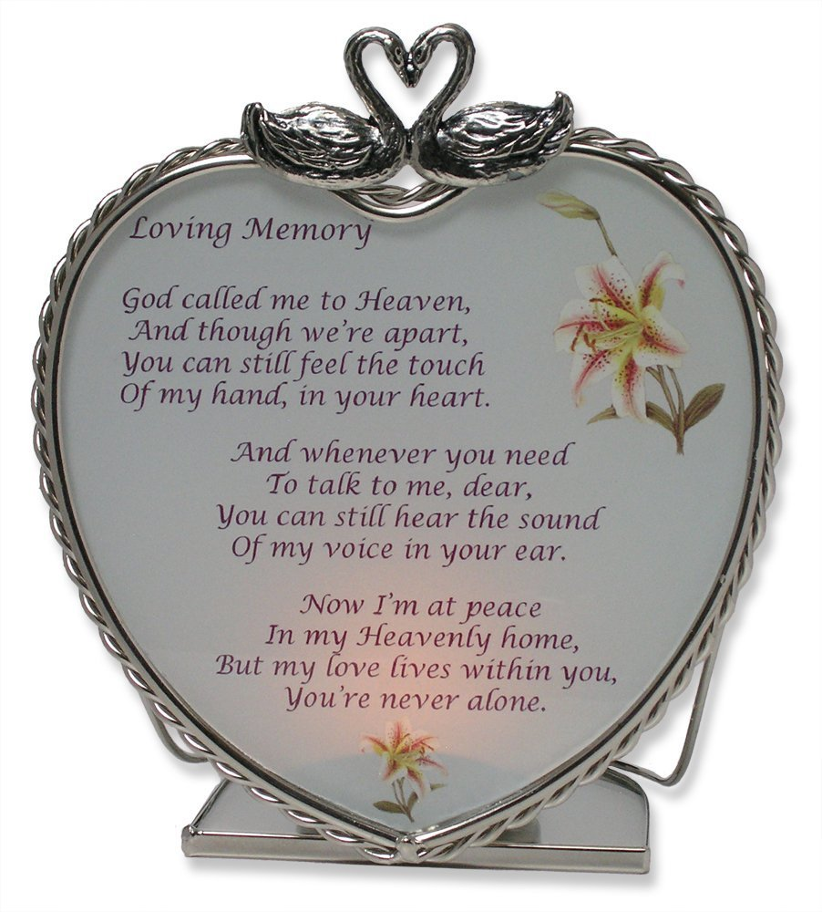 Amazon Banberry Designs Loving Memory Bereavement Memory Candle