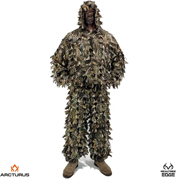 Arcturus 3D Realtree Edge Ghillie Suit - Over 1
