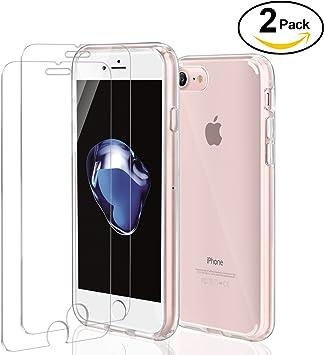 iPhone SE Funda + [2 Unidades] Cristal Templado, ivencase Premiun ...