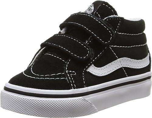Infant Vans Sk8 Mid Reissue V Sneaker Size 8 M BlackTrue White