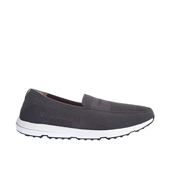20d80d0fedd Swims Breeze Leap Knit Penny Slip On Shoes UK 11 Grey  Amazon.co.uk   Clothing