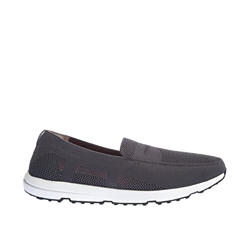 bce4909397e Swims Men s Knitted Breeze Leap Penny Loafers Grey  Amazon.co.uk ...