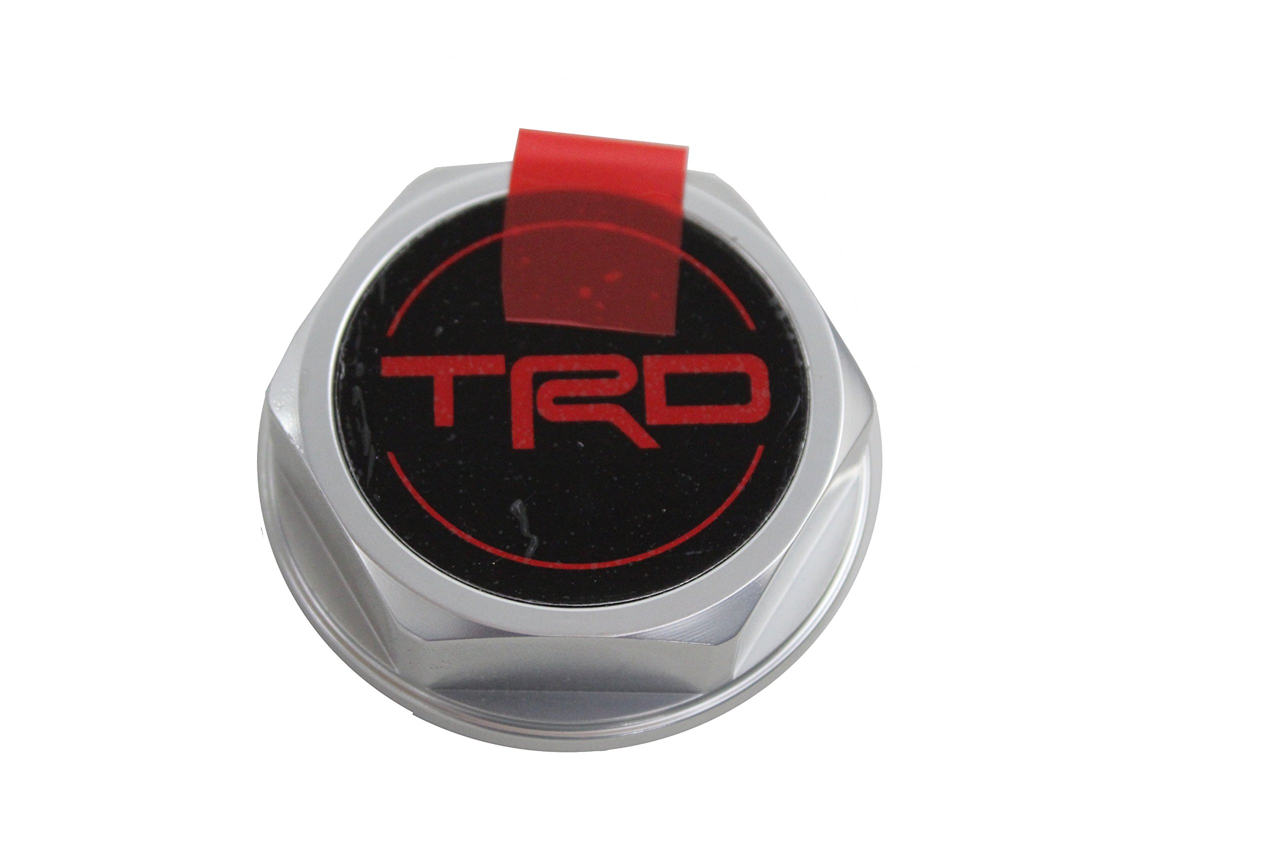 Genuine Toyota Accessories PTR35-00070 Forged Billet Aluminum TRD Oil Cap by Toyota