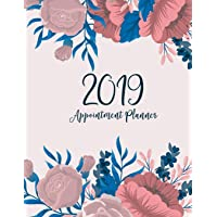 2019 Appointment Planner: 52 Weeks Planner Calendar Schedule Organizer and Inspirational Quotes | Appointment Book Times Daily and Hourly Schedule | Monday To Sunday 8AM To 9PM 15-Minute Increments | January to December 2019